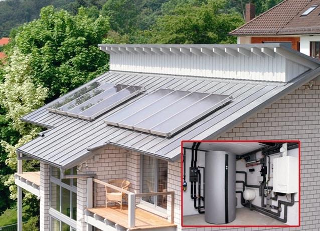 Solar + Öl - in einigen, vor allem ländlichen Gegenden die einzig wirtschaftliche Alternative. Foto: IWO
