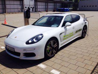 Porsche Panamera Plug-in Hybrid. Foto: Urbansky