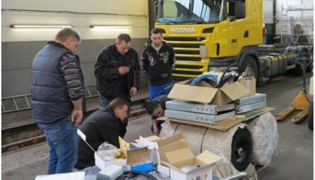 Umgerüstet wurden die Lkw bei der Hartmann GmbH in Koblenz, die die Fahrzeuge noch heute nutzt. Foto: ISI GmbH