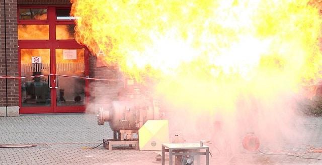 Staubexplosion. Foto: Zwergelstern / Wikimedia