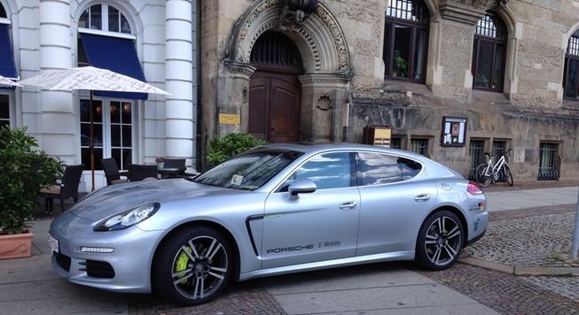 Porsche Panamera als Plugin-Hybrid. Foto: Urbansky