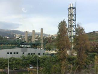 Heizöl-Kraftwerk auf Madeira westlich von Funchal. Foto: Urbansky