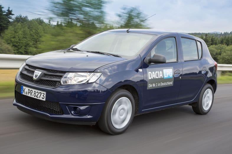auerbrenner in Deutschland: Der Sandero. Foto: Dacia