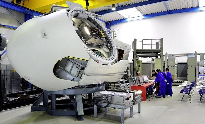 GE-Trainingscenter in Salzbergen. Foto: GE Wind