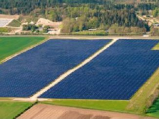 Solarkollektorfeld. Foto: Dronninglund Fjernwarme