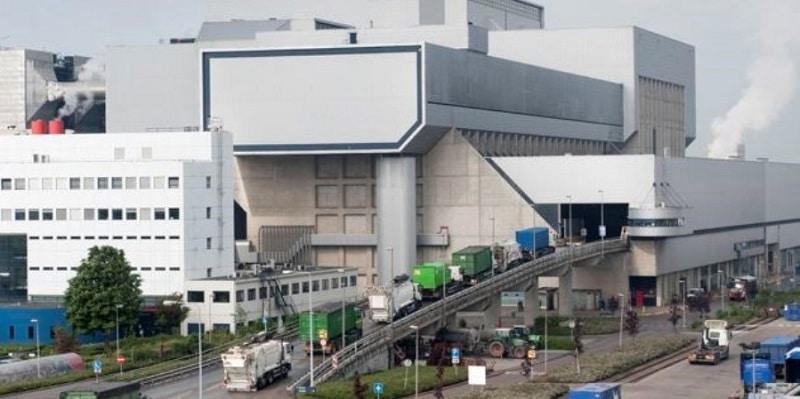 Anlieferung von Hausmüll in einem Müllverbrennungskraftwerk von AEB. Foto: AEB Amsterdam