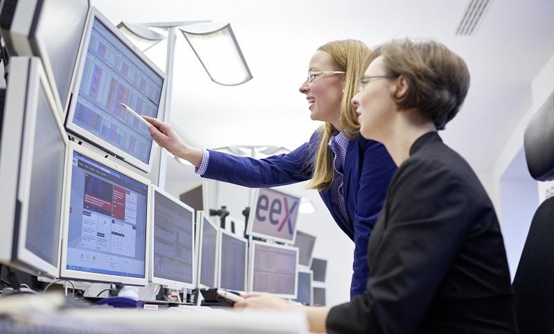 Big Data ist Voraussetzung für die erfolgreiche Teilnahme am Energy-only-Markt 2.0, wie hier an der Leipziger Energiebörse. Foto: EEX