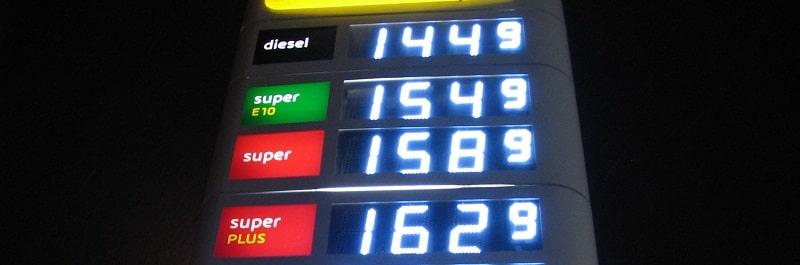 Biokraftstoff wird bis zu 7 % bei Diesel und zu 5 bis 10 % bei Benzin beigemischt. Foto: Urbansky