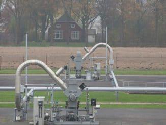 Erdgasgewinnung im Feld Groningen. Foto: NAM BV
