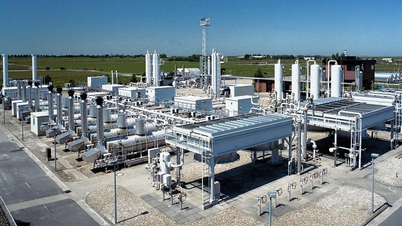 Gasspeicher der EWE in Nüttermoor. Im Netzgebiet dieses Versorgers erfolgen demnächst die ersten Umstellungen von L- auf H-Gas. Foto: EWE