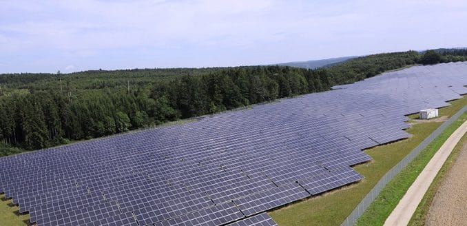 Der Solarpark Leibertingen der EnBW. Foto: EnBW / Uli Deck Bürgerenergie, Energiegenossenschaft, Ausschreibung, EEG