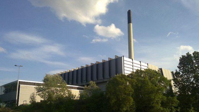 Müllverbrennungsanlage von VF, die auch zur Wärmeauskopplung genutzt wird. Kinamand / Wikimedia / Lizenz unter CC BY-SA 3.0