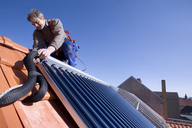 Noch kein durchschlagender Erfolg für die Solarthermie - trotz Anreizen im MAP. Foto: BDH