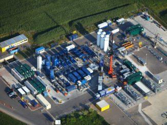 Für das Fracking bedarf es eines hohen technischen Aufwandes. Foto WEG