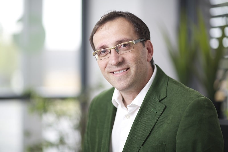 Unser Gesprächspartner Werner Posch, CEO von neovoltaic. Foto; neovoltaic