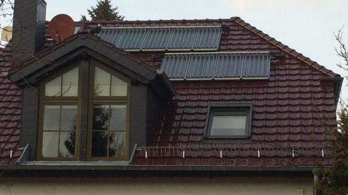 Profiteur vom neuen MAP: Solarthermie, hier für die Heizungsunterstützung. Foto: Urbansky