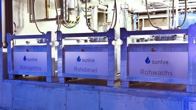 Quasi aus der Luft wird sunfire in Dresden hergestellt. Foto: Sunfire