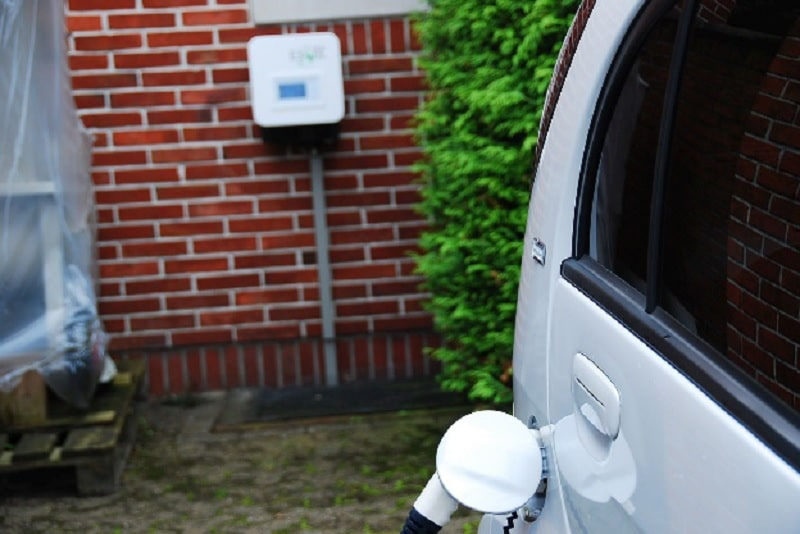 Wird mit eigenerzeugten Strom betrieben: der Citroen C-Zero von Gerd Henne. Foto: Cleantech Media