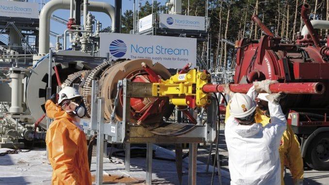 Inspektion mit Molch an der deutschen Anlandestation in Lubmin. Foto: Nord Stream