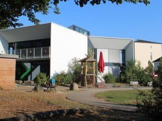 Kiga Eilenberg Passivhaus, Gasbrennwert, Lüftung