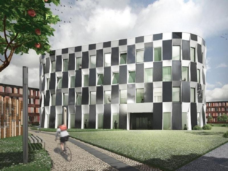 Im neuen Erweiterungsbau des Umweltbundesamtes Dessau wird auch die Heizung smart und zentral gesteuert. Foto: Anderhalten Architekten Smart Home, Digitalisierung, Heizung, Brennstoff