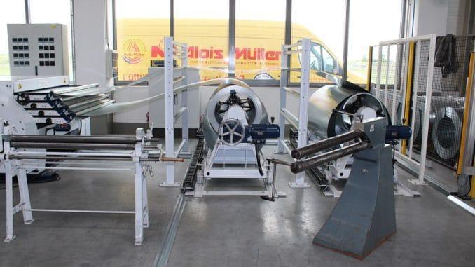 Wärmepumpenproduktion bei Alois Müller. Foto: Urbansky Wärmepumpe Contracting EnEV