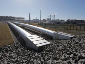 Erdgas, hier die Anlandestation von Nord Stream in der Lubminer Heide nahe Greifswald, ist der große Gewinner beim fossilen Energiemix 2035. Foto: Nord Stream Energiemix, BP, Outlook, 2035
