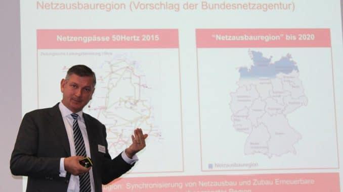 Sieht keine Netzengpässe für die Zukunft: 50Hertz-Geschäftsführer Boris Schucht. Foto: Urbansky Netz, Stromnetz, Gasnetz, BNetzA, 50Hertz