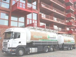 Pelletlieferung Am Lokdepot 6 in Berlin-Schöneberg. Foto: Urbansky Pellets, Holz, Brennholz,. Festbrennstoff, EnEV, KfW, EEWärmeG