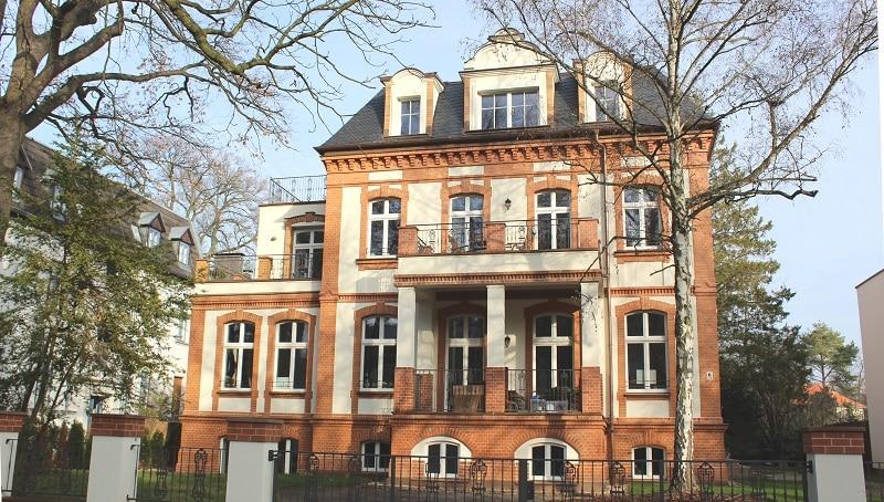 Funktioniert auch im Bestand: Wärmepumpe, hier in einer Berliner Villa. Foto: Urbansky Wärmepumpe, Bestandsbau, Ökostrom, Heizung
