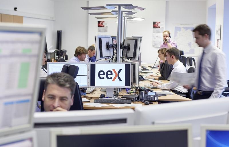Stromhandel, wie hier an der Leipziger EEX, gehört heute schon zum Portfolio vieler mittelständischer Mineralölhändler. Foto: EEX