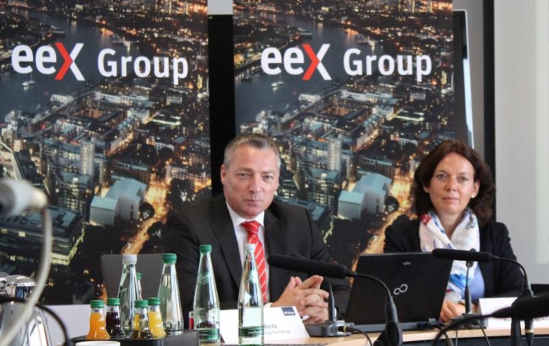 Haben auch in diesem Jahr viel vor: EEX-CEO Peter Reitz und Finanzvorständin Iris Weidinger. Foto: Urbansky