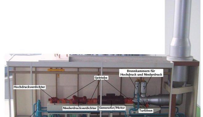 Der einzige große Druckluftspeicher in Deutschland wird in Huntorf betrieben. Ein Projekt auch die bei der Kompression entstehende Abwärme zu nutzen, erwies sich als nicht wirtschaftlich. Govgel / Wikimedia / gemeinfrei