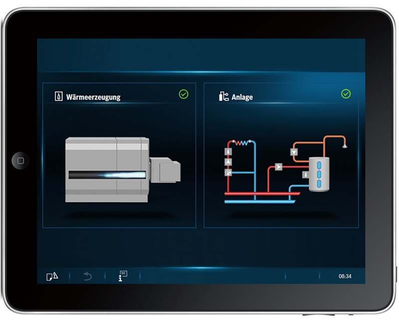 Automatisiert erfasse Energieverbräuche ermöglichen ein rechtzeitiges Gegensteuern bei Mehrverbrauch. Foto: Buderus