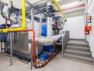 Blockheizkraftwerk eines Mieterstromprojektes. Die Kraft-Wärme-Kopplung ist bisher die dafür bevorzugte Variante. Foto: Urbana Energiedienste