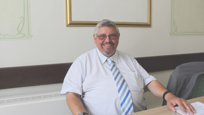 VfW-Präsident Norbert Krug. Foto: Urbansky