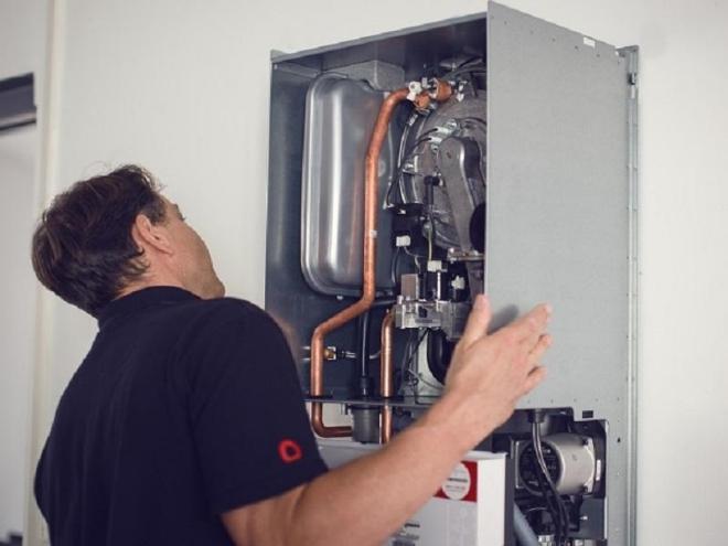 Bei Sanierungen im Bestand wird häufig auf den alten Energieträger gesetzt -wie hier Erdgas. So kann die Wärmewende nicht vorankommen. Foto: Thermondo