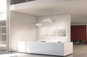 LED, hier als OLED in beliebiger Form angepasst, sind sehr effizient, haben eine lange Lebensdauer und so gut wie keine Brandgefahr. Foto: licht.de