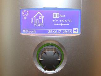 Kann systemdienlich betrieben werden: Warmwasserspeicher einer Wärmepumpe, der dann befüllt wird, wenn genügend Überflussstrom zur Verfügung steht. Foto: Urbansky
