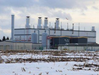 Verdichterstation der Ontras in Sayda. Der Erdgasverbrauch legte im I. Quartzal 2018 am stärksten zu. Foto: Urbansky
