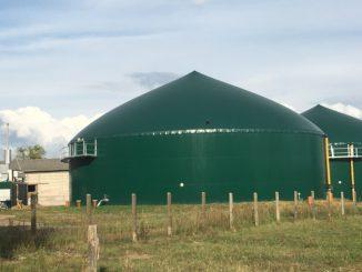 Biogasanlagen werden von Energiegenossenschaften häufig zur Wärmeproduktion für Nahwärmenetze genutzt. Foto: Urbansky