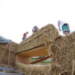 Strohhäuser sind von Natur aus energieeffizient