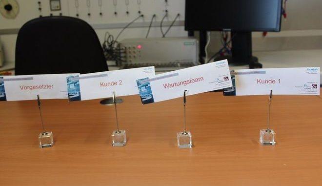 Beim Havarietraining an der TU Ilmenau sind die Rollen für Energieversorger und Kunden genau verteilt. Foto: Urbansky