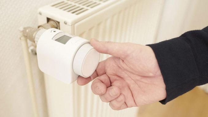 Elektronische Thermostatventile bieten viel Komfort und können 10% des Heizwärmebedarfs einsparen. Foto: innogy SE