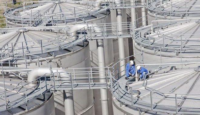 Biokraftstoffanlangen der 1. Generation für Ethanol produzieren Gärkohlensäure, die für Kraftstoffe der 2. Generation verwendet werden könnte. Durch die aktuelle Politik der EU ist diese Kopplung in Gefahr. Foto: Verbio
