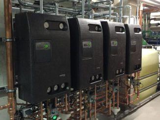 Dezentrale Frischwasserstationen sind wartungs- und verschleißarm. Der Aufwand für Planung und Installation ist allerdings höher als bei zentralen Systemen. Foto: Oventrop