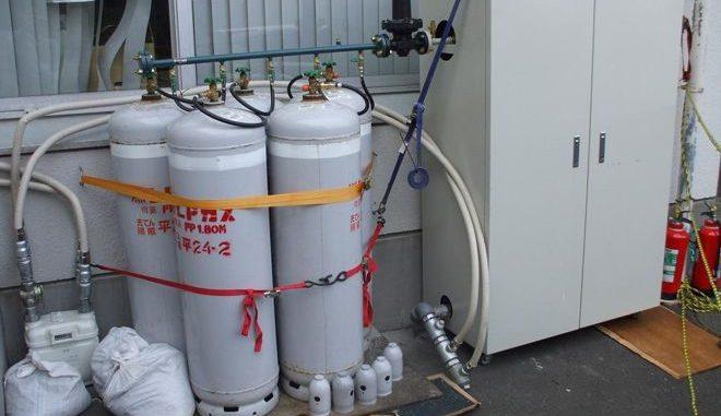 Flüssiggas ersetzt in einem Krankenhaus nach der Fukushima-Katastrophe im so genannten PA-System das Erdgas. Foto: Ito