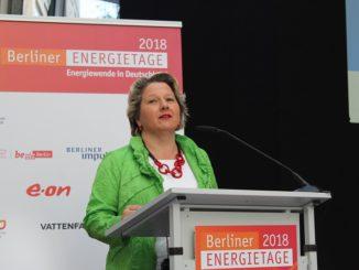 Ohne Steuererleichterung wenig zu bieten: Bundesumweltministerin Swenja Schulze. Fotos: Urbansky