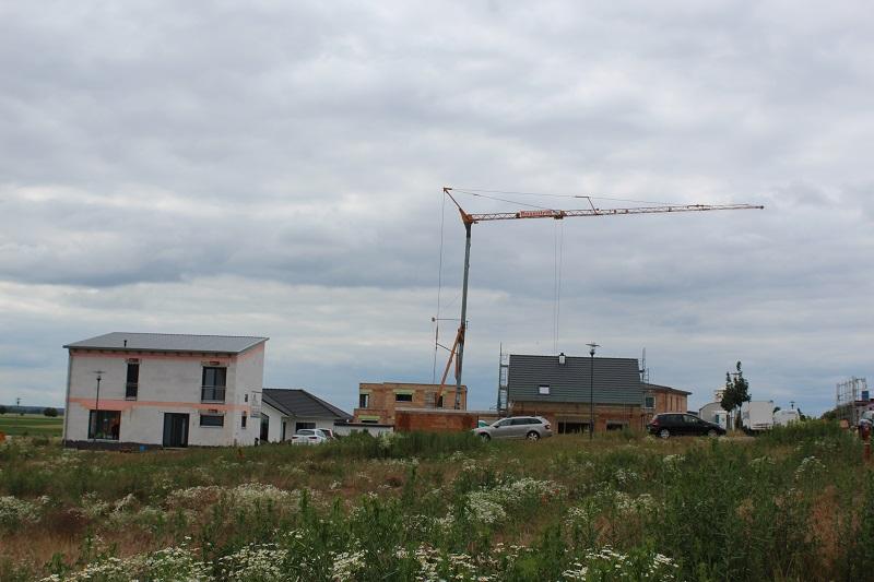Alle Grundstücke in diesem Baugebiet wurden für Geothermie vorbereitet. Foto: Urbansky