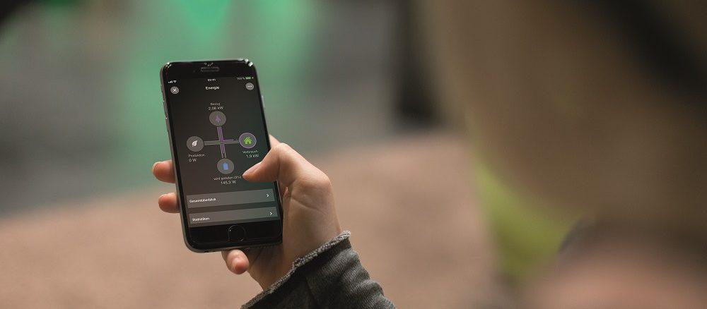 Smart ausgerüstete Heizungen lassen sich per App überwachen. Foto: Loxone